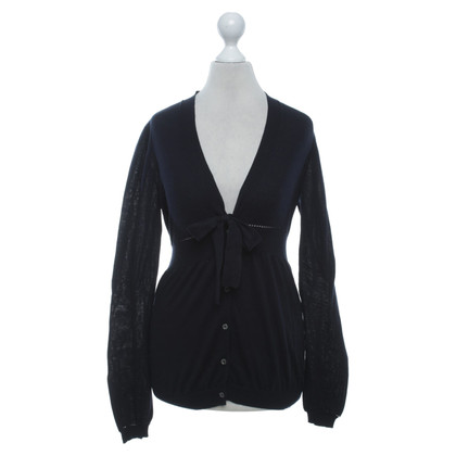 Céline Cardigan in blu scuro