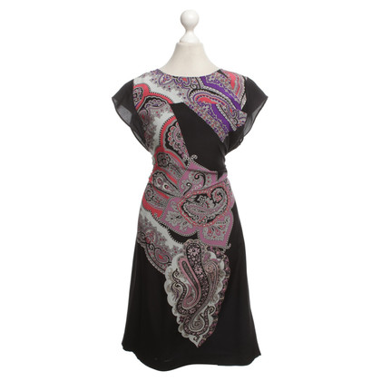 Etro Silk dress with Paisley pattern
