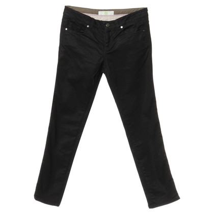 Stella McCartney Black jeans with soft sheen