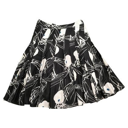 Marc Jacobs Plooirok in zwart / White
