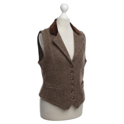 Ralph Lauren Vest met fluwelen kraag