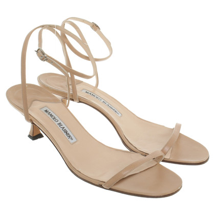 Manolo Blahnik Sandals in beige