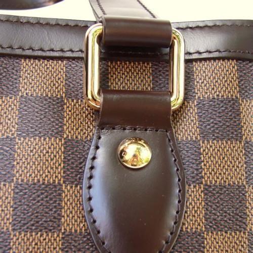 Louis Vuitton Hampstead PM Damier Ebene Canvas - Second Hand Louis ... d563ef1504114