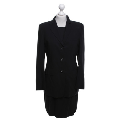 René Lezard Dress and blazer in black