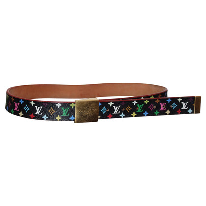 Louis Vuitton Belt made of Monogram Multicolore Noir