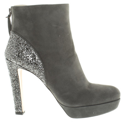 Miu Miu Ankle boots with glitter