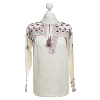 Isabel Marant Etoile Top con ricami