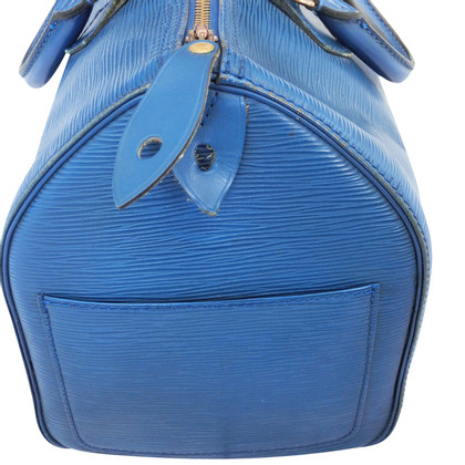 "Louis Vuitton ""Speedy 30 Epi"" in blue"