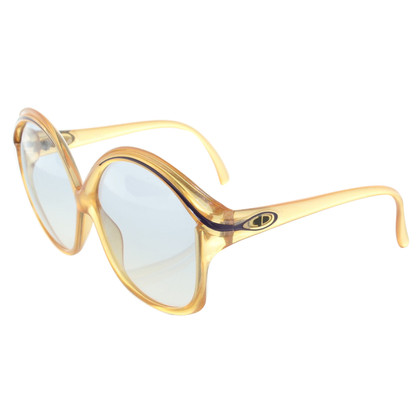 Christian Dior Sonnenbrille in Goldgelb