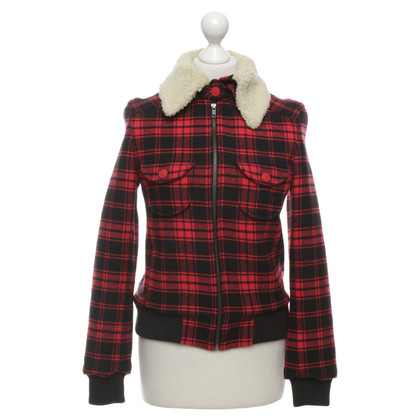 Marc Jacobs Jacket with checked pattern