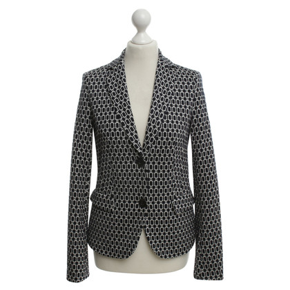 Odeeh Blazer with graphic pattern