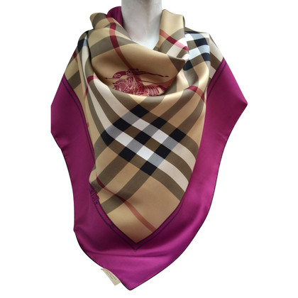 Burberry Silk scarf patterns