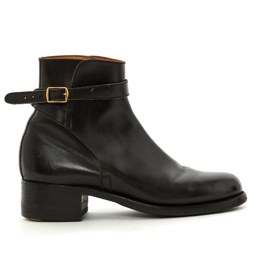 a65d93dc29fee Other Designer Black Leather Ankle Boots - Second Hand Other ...
