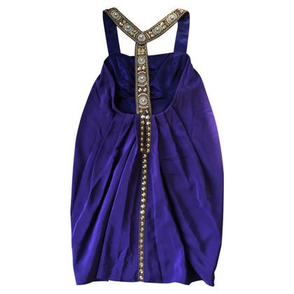 Temperley London Silk dress with embellishments