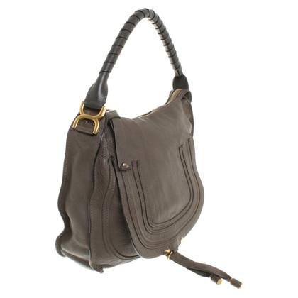 """Chloé """"Marcie"""" shoulder bag taupe"""