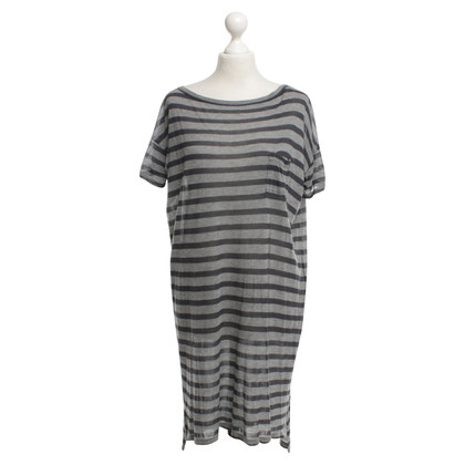 T by Alexander Wang T-shirt jurk met strepen