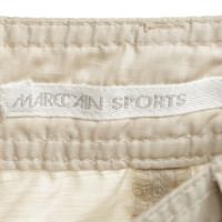 Marc Cain Sporty trousers in beige