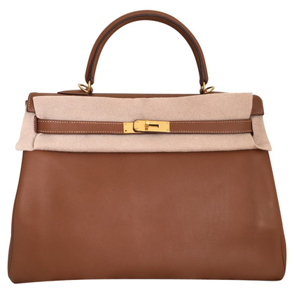 Hermès Kelly 35 Swift Caramel