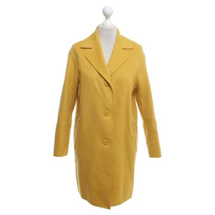 Max Mara Coat in yellow