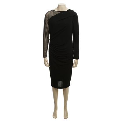 Talbot Runhof Dress with mesh insert