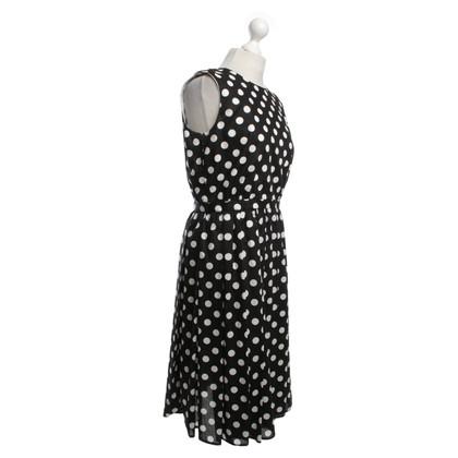Van Laack Dress with dot pattern