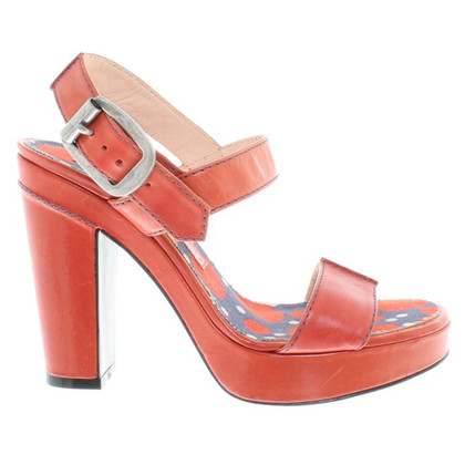 Marc by Marc Jacobs Sandali in rosso