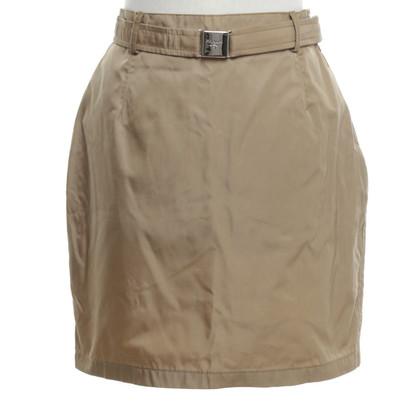 Prada skirt in light brown