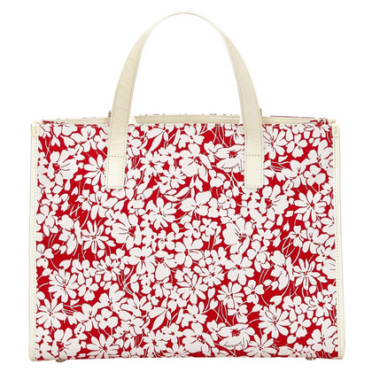 Burberry Tote Bag mit floralem Muster
