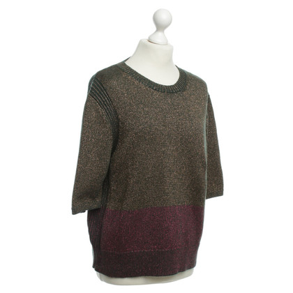 Dries van Noten Effect yarn knit pullover