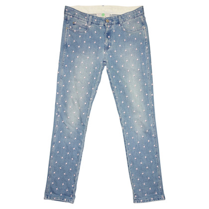 Stella McCartney Jeans with embroidery