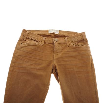 Current Elliott Camel ankle jeans