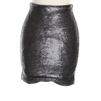 Iro Sequin skirt in gray