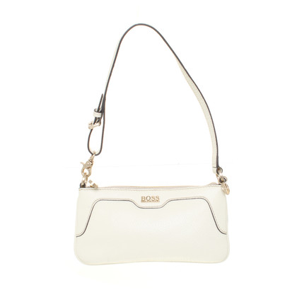 Hugo Boss Cream clutch