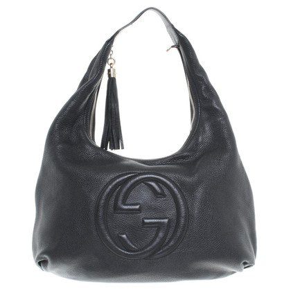"Gucci ""Soho Shoulder Bag"" in Schwarz"