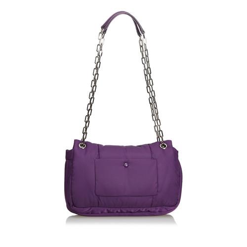 40bac6e9d0 Prada Shoulder bag in Violet - Second Hand Prada Shoulder bag in ...