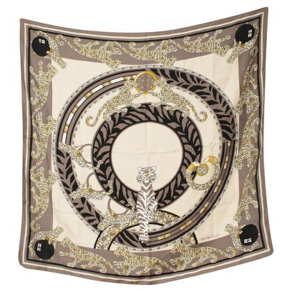 Cartier Patterned silk scarf