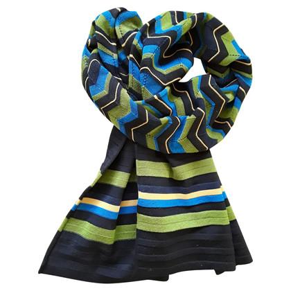 Missoni Sjaal in blauw / groen