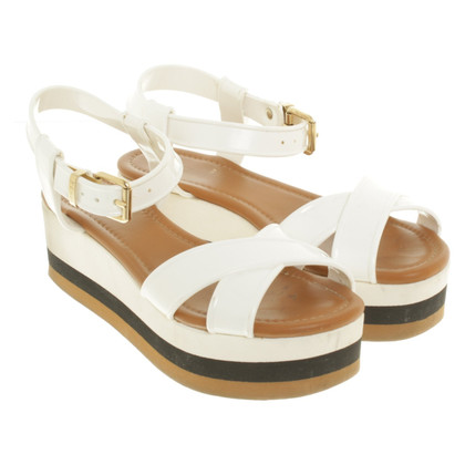 Fendi Wedges in tricolor