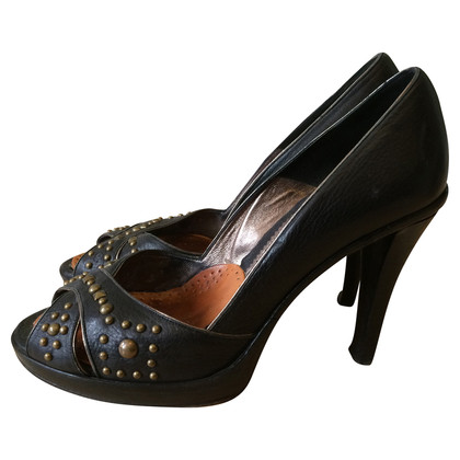 Barbara Bui Peep-toes with rivets