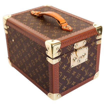Louis Vuitton beauty case boite flacons trunk monogram