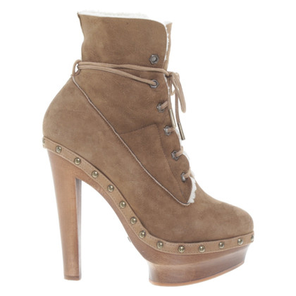 Le Silla  Ankle boots with lambskin
