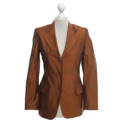 Etro Blazer in Orange-Braun