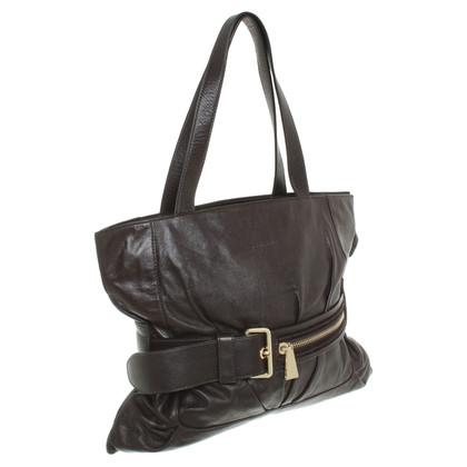 Coccinelle Handbag in dark brown