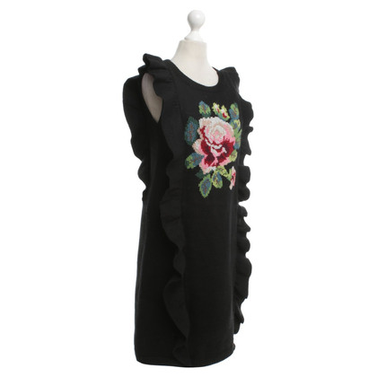 Manoush Woolen dress with embroidery