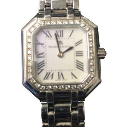 Maurice Lacroix Watch. With diamond bezel