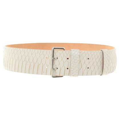 Furla riem in reptielen lederlook