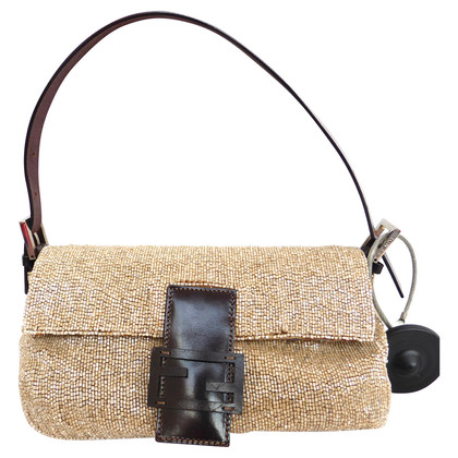 Fendi Evening bag with leather
