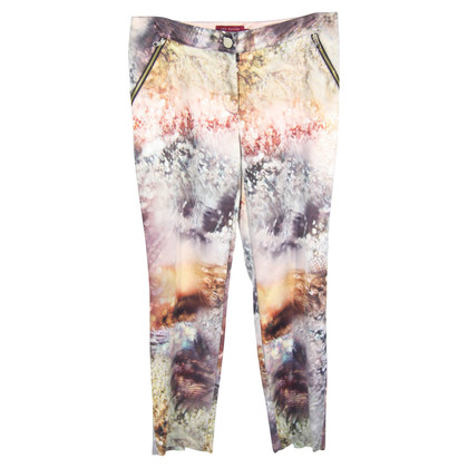 All Saints Pantaloni con stampa animalier