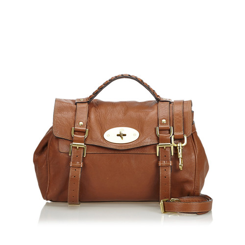 51d612171b Mulberry Shoulder bag Leather in Brown - Second Hand Mulberry ...