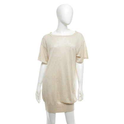 Strenesse Gebreide jurk in beige